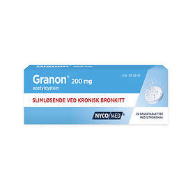 Nycomed Granon 200mg 20 Brustabletter
