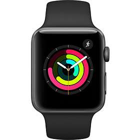 122c3dabf7b6 Find the best price on Apple Watch Series 3 38mm Aluminium with ...