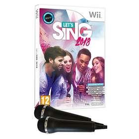 Let's Sing 2018 (inkl. 2 Mikrofoner) (Wii)