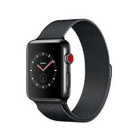 Apple Watch Series 3 4G 42mm Stainless Steel with Milanese Loop