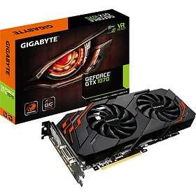 Gigabyte GeForce GTX 1070 Windforce 2X OC Rev2 HDMI 3xDP 8GB