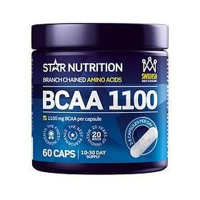 Star Nutrition BCAA 1100 60 Kapslar