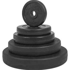 Gorilla Sports Basic Viktskivor Cement 1,25kg
