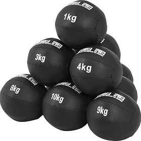 Gorilla Sports Gummi Pro Medicinboll 10kg
