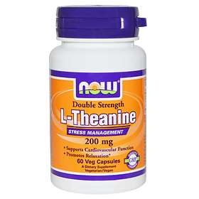 Now Foods L-Teanin 200mg 60 kapslar