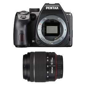Ricoh-Pentax K-70 + 18-55/3,5-5,6 WR + 50-200/4,0-5,6 WR