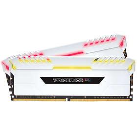 Corsair Vengeance White RGB LED DDR4 3600MHz 2x8GB (CMR16GX4M2C3600C18W)