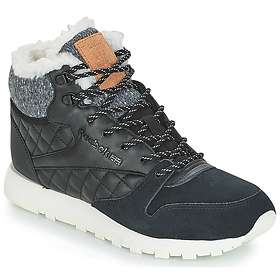 Reebok Classic Leather Arctic, Baskets Femme, Noir Black
