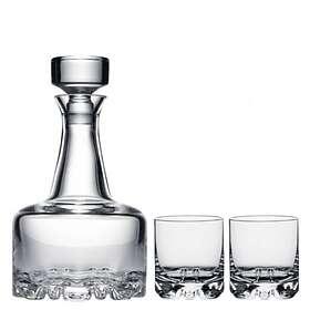 Orrefors Erik Karaff Med 2 DOF Whiskyglas