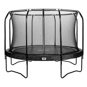 Salta Premium Black Edition Round with Safety Net 366cm