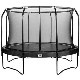 Salta Premium Black Edition Round with Safety Net 396cm