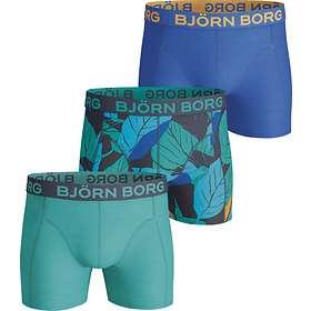Björn Borg Leaf Peacoat Shorts 3-Pack