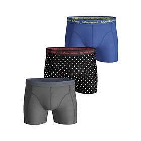 Björn Borg Essential Dot Shorts 3-Pack