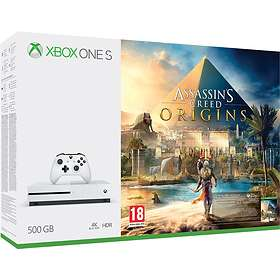 Microsoft Xbox One S 500GB (inkl. Assassin's Creed Origins)