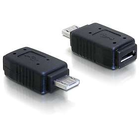 DeLock USB Micro-A - USB Micro-AB M-F Adapter