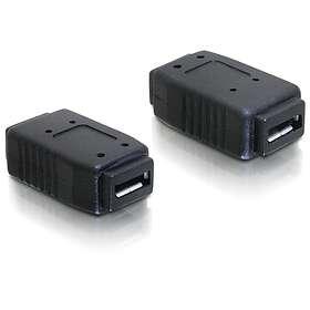 DeLock USB Micro-AB - USB Micro-AB F-F Adapter