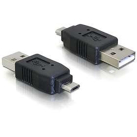 DeLock USB A - USB Micro-B M-M Adapter