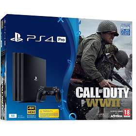 Sony PlayStation 4 Pro 1To (+ Call of Duty: WWII)