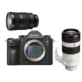 Sony Alpha A9 + 24-70/2,8 SSM GM + 100-400/4,5-5,6 OSS GM