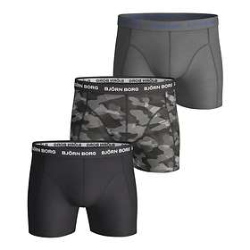 Björn Borg Essential Camoline Shorts 3-Pack