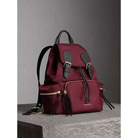 9dbd40538c13d Burberry The Medium Rucksack In Technical Nylon And Leather (Women s)