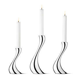 Georg Jensen Cobra Lysestake 3-pack