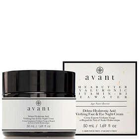 Avant Skincare Deluxe Hyaluronic Acid Vivifying Face & Eye Crème de Nuit 50ml