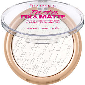 Rimmel Insta Flawless Fix & Matte Setting Compact Powder