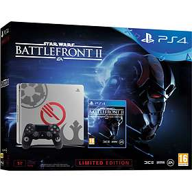 Sony PlayStation 4 Slim 1TB (inkl. Star Wars: Battlefront II) - Limited Edition