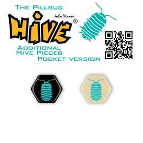 Gen42 Games Hive: The Pillbug for Hive Pocket (exp.)