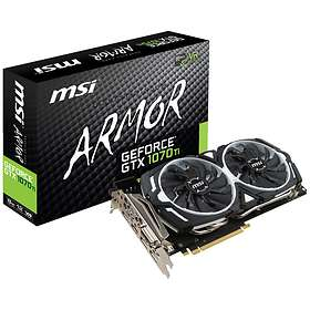 MSI GeForce GTX 1070 Ti Armor HDMI 3xDP 8GB