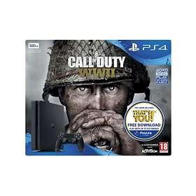 Sony PlayStation 4 Slim 500GB (incl. Call of Duty: WWII)