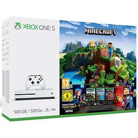 Microsoft Xbox One S 500GB (incl. Go Minecraft)