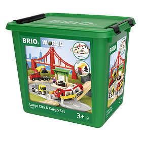 BRIO World Stort City & Fraktset 33924