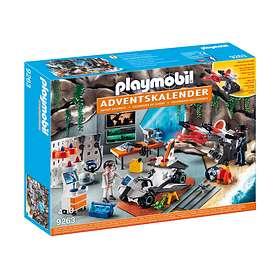 Playmobil Christmas 9263 Spy Team-verkstedet Julekalender 2017