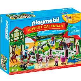 Playmobil Christmas 9262 Rideanlegg Julekalender 2017