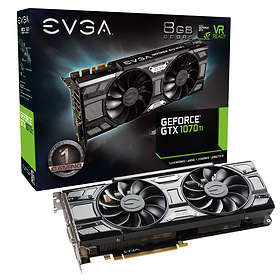 EVGA GeForce GTX 1070 Ti SC Gaming HDMI 3xDP 8Go