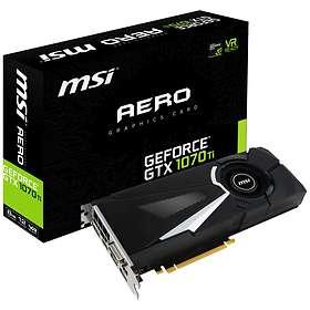 MSI GeForce GTX 1070 Ti Aero HDMI 3xDP 8Go