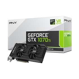 PNY GeForce GTX 1070 Ti (Dual Fan) HDMI 3xDP 8Go