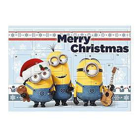 find the best price on undercover minions advent calendar. Black Bedroom Furniture Sets. Home Design Ideas