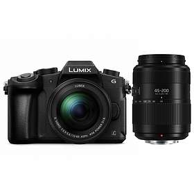 Panasonic Lumix DMC-G80 + 12-60/3,5-5,6 OIS + 45-200/4,0-5,6 OIS