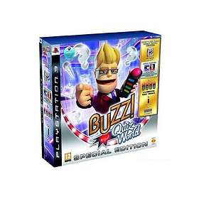 Buzz! Quiz World (+ Buzzers) (PS3)
