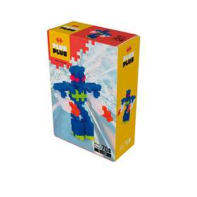 Plus Plus Mini Neon Robot 70 delar