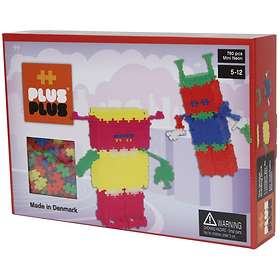 Plus Plus Mini Neon Robots 760 pcs