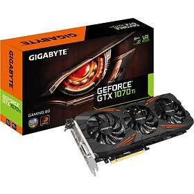 Gigabyte GeForce GTX 1070 Ti Gaming OC HDMI 3xDP 8GB