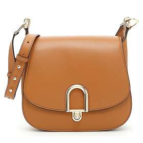 Michael Kors Delfina Large Leather Saddle Bag