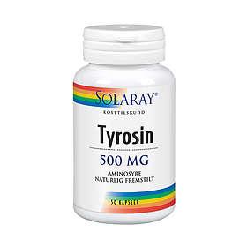 Solaray L-Tyrosine 50 Kapsler