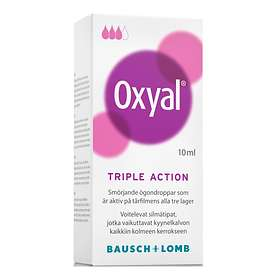 Bausch & Lomb Oxyal Triple Action Eye Drops 10ml