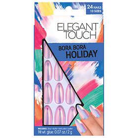 Elegant Touch Holiday False Nails 24-pack