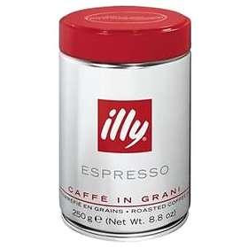 Illy Espresso Normalrost 0,25kg (tin, hela bönor)